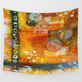 Abstract Hot and Spicy Wall Tapestry