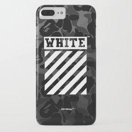 Off-White Bape Camo iPhone Case