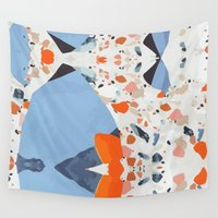 swedish Wall Tapestries featuring Swedish Lava by Pearlyn Chiam