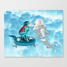 Game Canvas Print