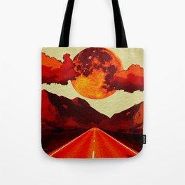 Red Road. Tote Bag