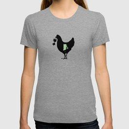 Rhode Island - State Papercut Print T-shirt