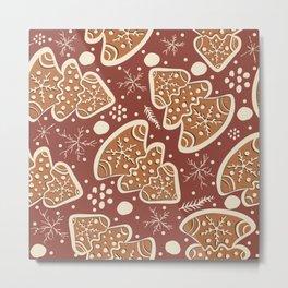 ginger bread Metal Print