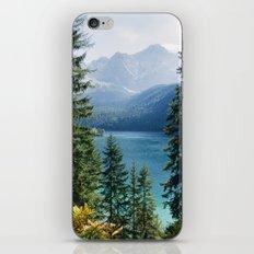 Eibsee #2 iPhone & iPod Skin