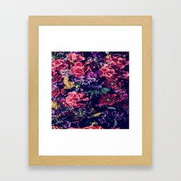 Flowers pattern Framed Art Print