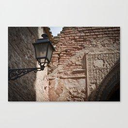 Alhambra Corner Detail Canvas Print