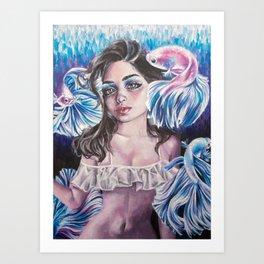 Glimmer Art Print
