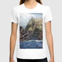 Imperial Death March  - Vintage collage T-shirt