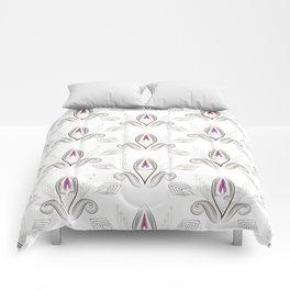 Art Deco 38. Rosebud . Comforters