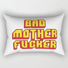 Bad mother fucker Pulp Rectangular Pillow