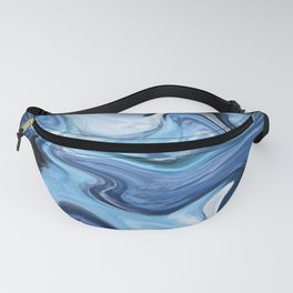 Marble texture print Fanny Pack