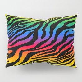 Zazzy Zebras - Rainbow Pillow Sham