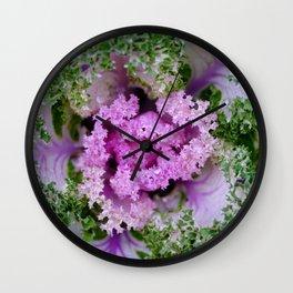 Decorative cabbage pattern Wall Clock