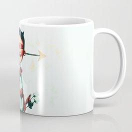 Super Hero In Love Coffee Mug