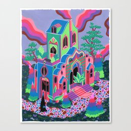 Wizard's House Canvas Print