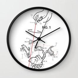 Lazer Cats! Wall Clock