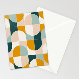 Bold Geo Tiles 01 Stationery Cards