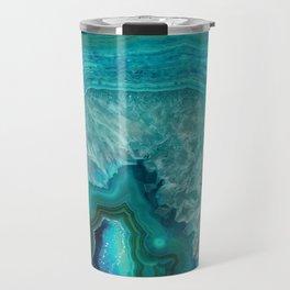 Teal Agate Travel Mug