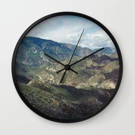 Angeles National Forest II Wall Clock