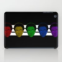 childish gambino iPad Cases featuring Childish Gambino (Divide) by KAZOO