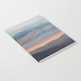 Sunset on the Blue Ridge Parkway Notebook
