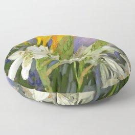 Fleur Printemps Floor Pillow