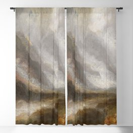 """J.M.W. Turner """"Valley of Aosta - Snowstorm, Avalanche and Thunderstorm"""" Blackout Curtain"""