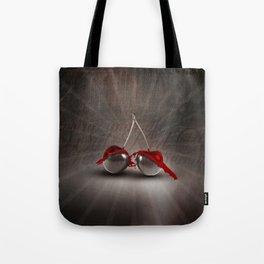 Cherry Splash Tote Bag