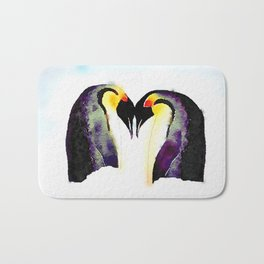 Penguin Love Bath Mat