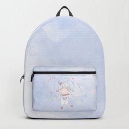 Sundara Happy Astronaut Girl Backpack