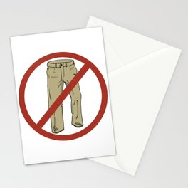 No Pants! Stationery Cards