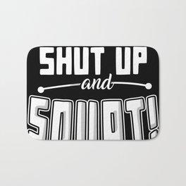 Shut Up And Squat Bath Mat