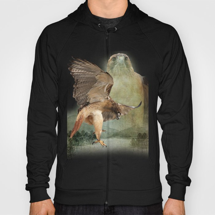 Feathered Fury Above Hoody