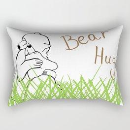 Bear Hug? Rectangular Pillow