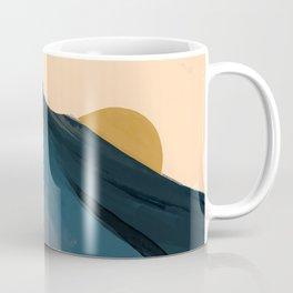 Golden Sunrise Over The Blue Mountains Coffee Mug