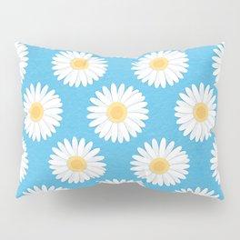 Spring Daisies_Blue Sky Pillow Sham