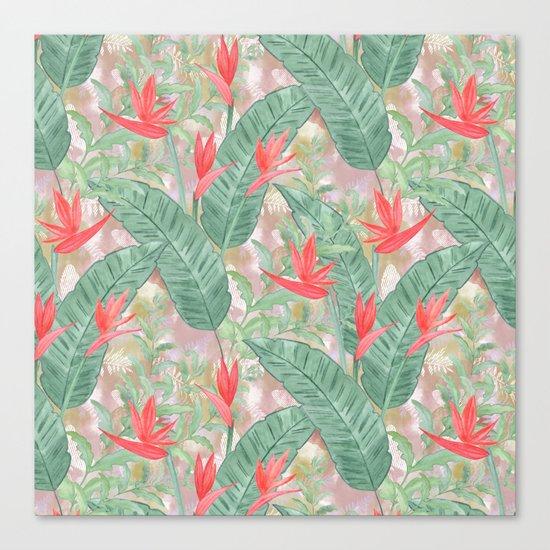 Tropical pattern 3 Canvas Print