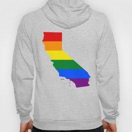 California Gay Pride Rainbow Flag LGBT Shirt Hoody