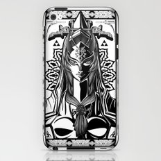 Legend of Zelda Midna the Twilight Princess Line Work iPhone & iPod Skin