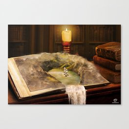 The Long Journey Canvas Print