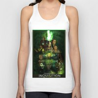dragon age inquisition Tank Tops featuring The Inquisition by Nero749