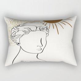 The Sun Of Rome Rectangular Pillow