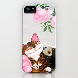 Winter Cat iPhone Case