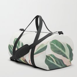 Pink Leaves III Duffle Bag