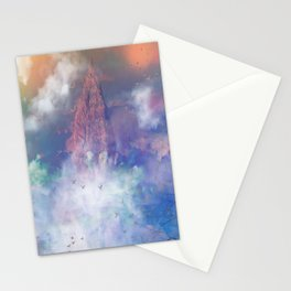 Towards the mount Olympus Stationery Cards