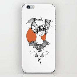 batty witch iPhone Skin