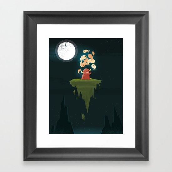 :::Thought Bender...::: Framed Art Print
