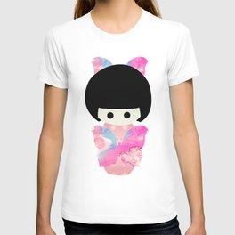 Butterfly Kokeshi T-shirt