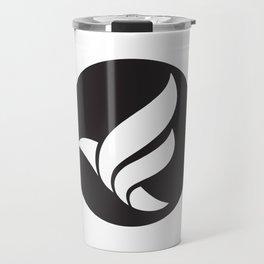 LFN b&w logo Travel Mug