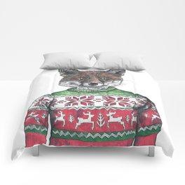 Fantastic Mr Fox (in a smashing christmas jumper) Comforters